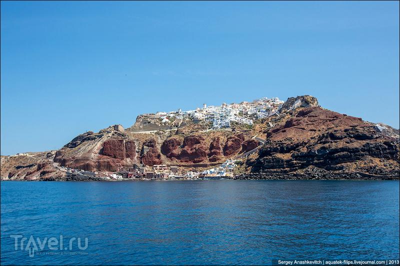Остров Санторини, Греция / Фото из Греции