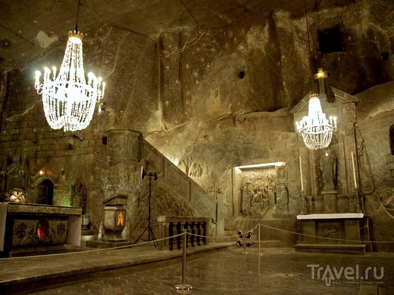 Часовня Святой Кинги располагается на глубине 101 метр, Польша / Польша