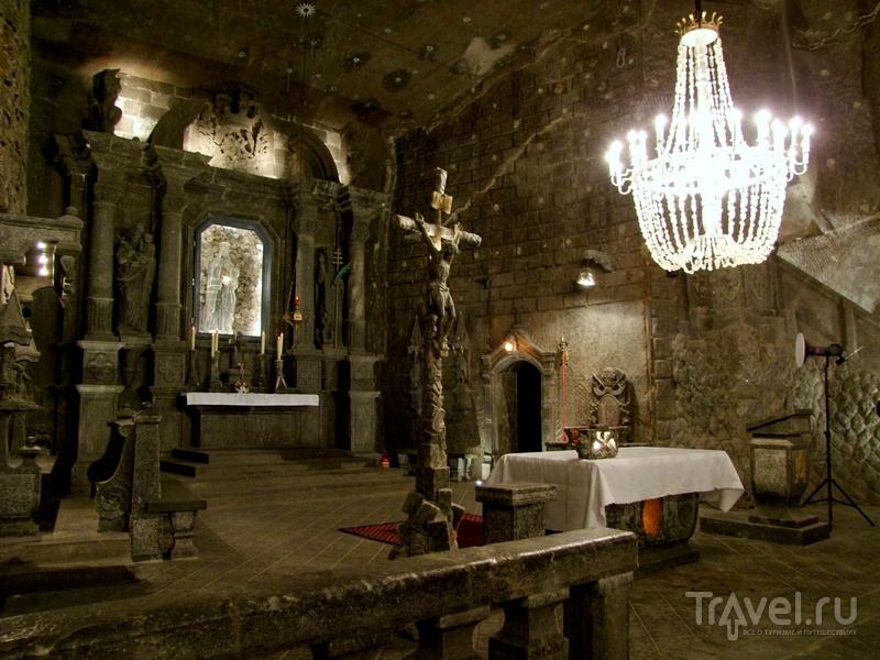 Подземная часовня Святой Кинги в соляных шахтах Велички, Польша / Польша