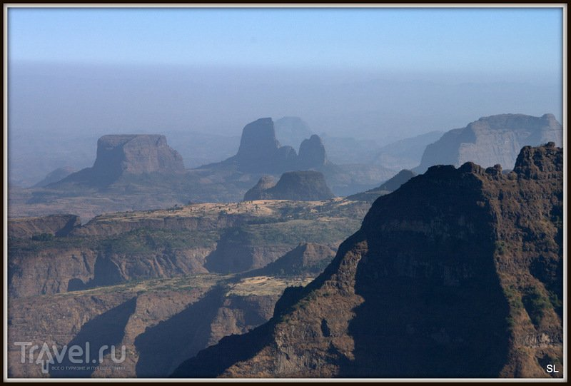 В Simien Mountains Nationaal Park, Эфиопия / Фото из Эфиопии