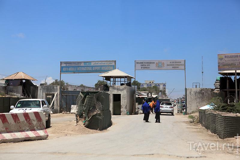 В городе Могадишо, Сомали / Фото из Сомали
