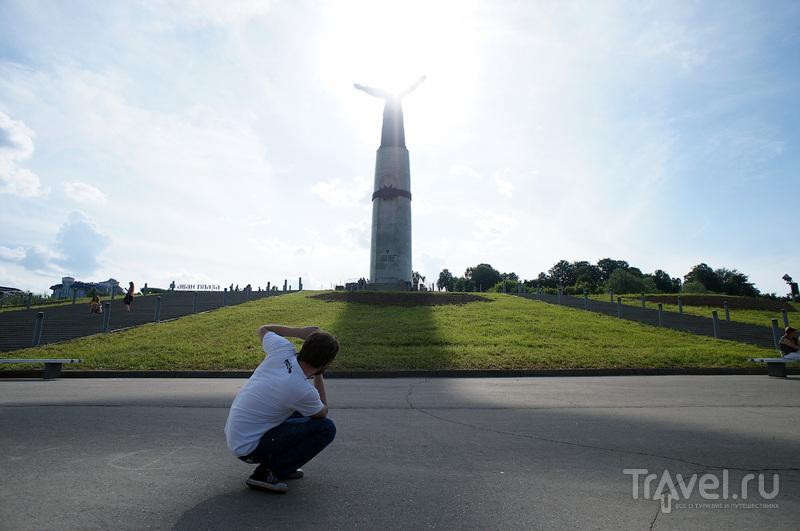 """Монумент """"Мать-Покровительница"""" в Чебоксарах, Россия / Фото из России"""
