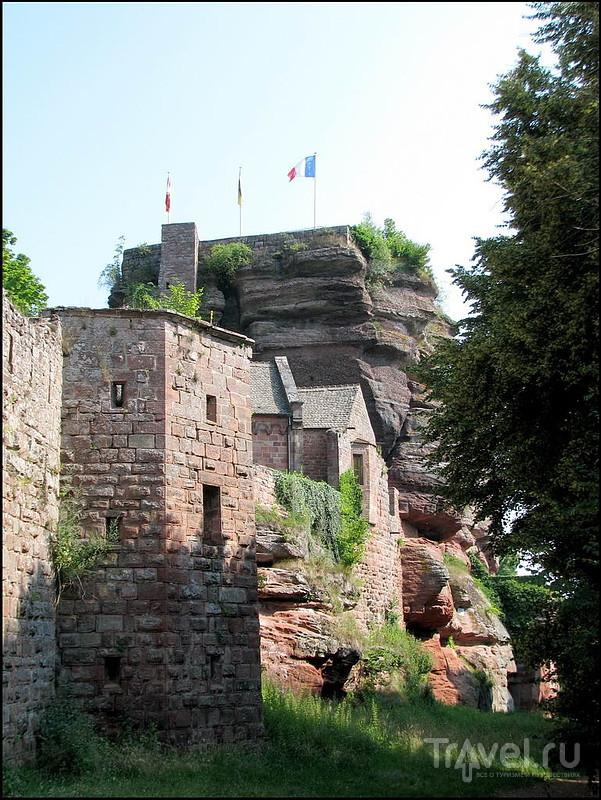 Château du Haut-Barr. Эльзас / Франция