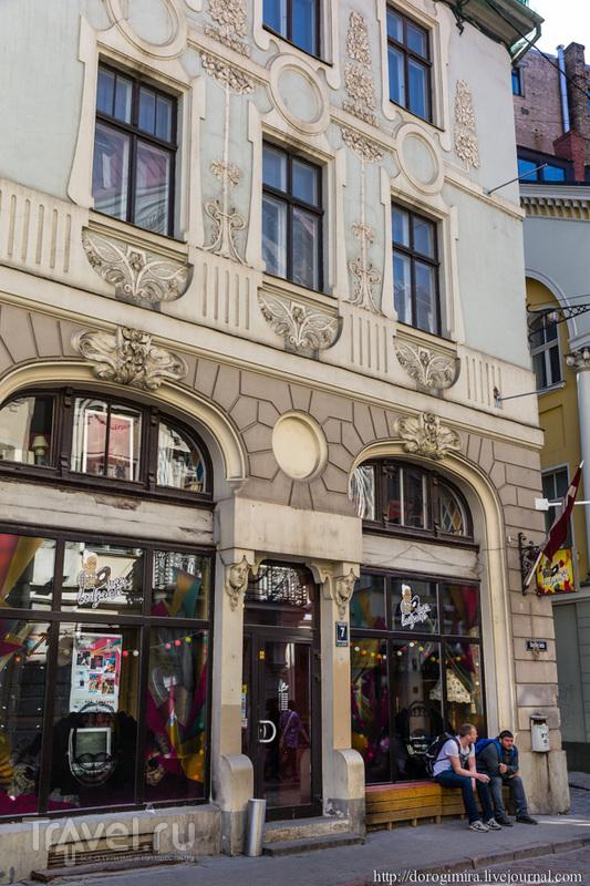 Улица Аудею, дом 7 в Риге, Латвия / Фото из Латвии