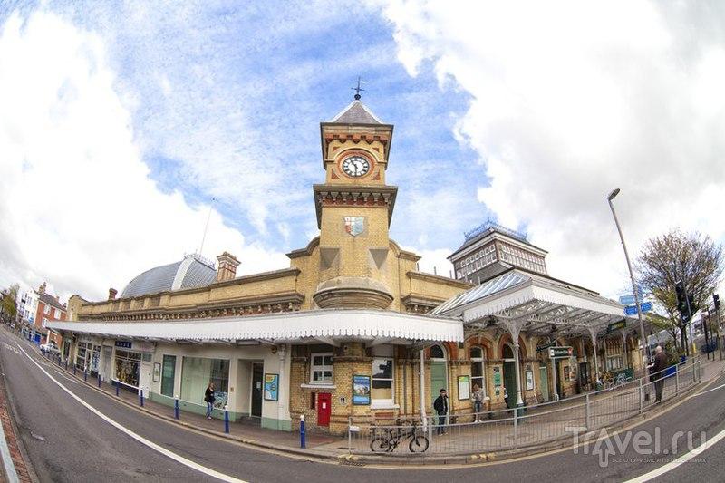 В городе Истборн, Великобритания / Фото из Великобритании