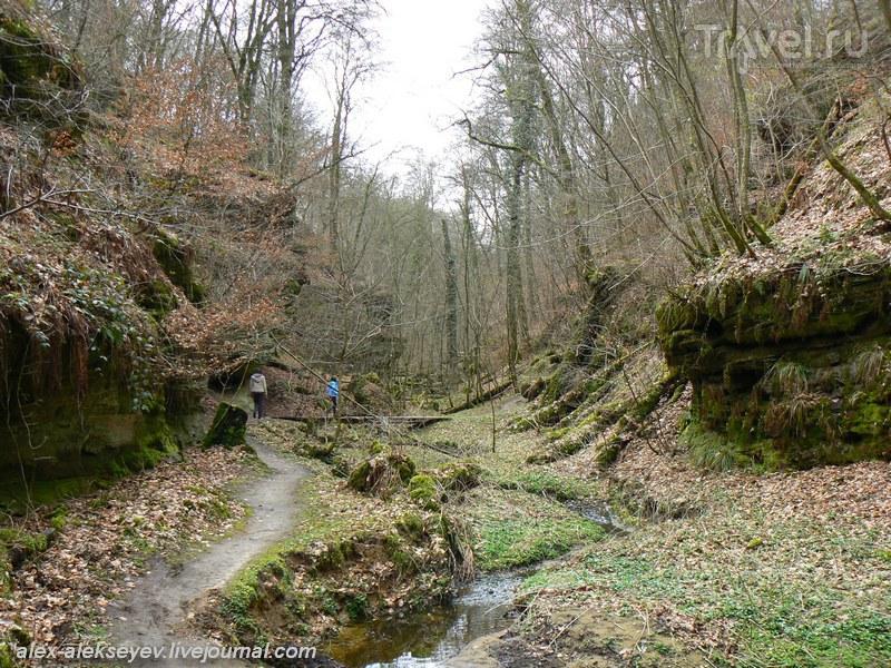 Люксембургский Мюллертал - Маленькая Швейцария / Люксембург