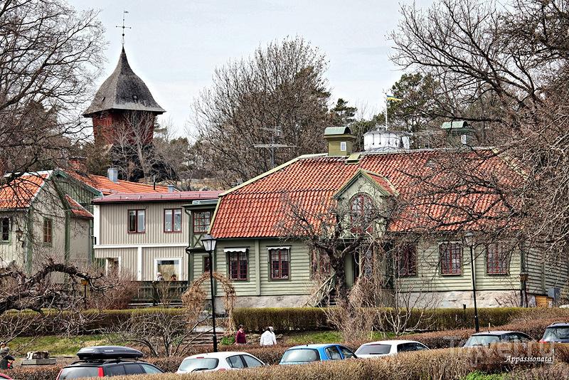 В городе Сигтуна, Швеция / Фото из Швеции