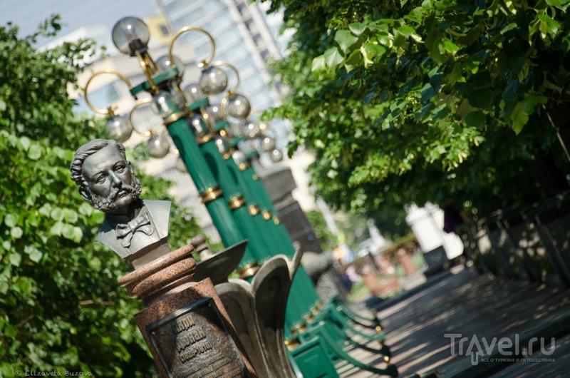 Бюст Андри Дюнана в Минске, Белоруссия / Фото из Белоруссии