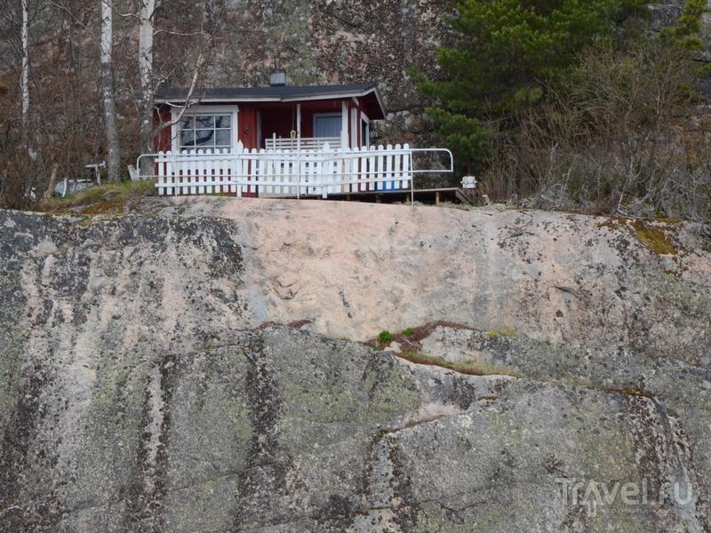 Дом на одном из островов архипелага Турку, Финляндия / Фото из Финляндии