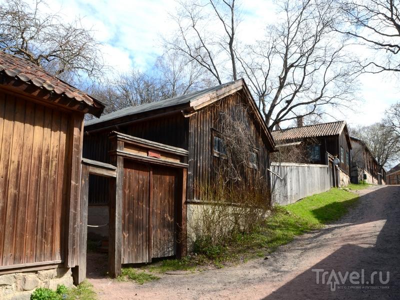 Район Вартиовуори в Турку не пострадал от пожара 1827 года, Финляндия / Фото из Финляндии