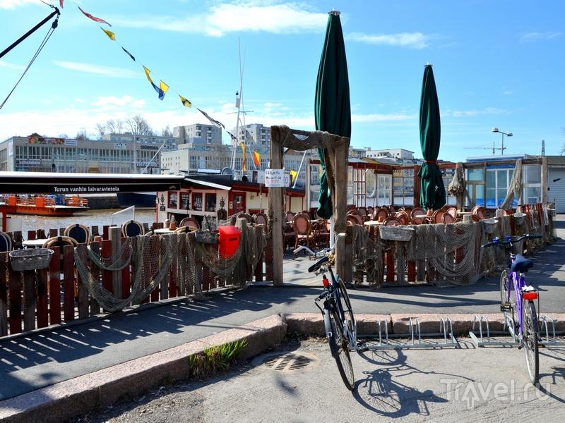 На набережной в Турку, Финляндия / Фото из Финляндии