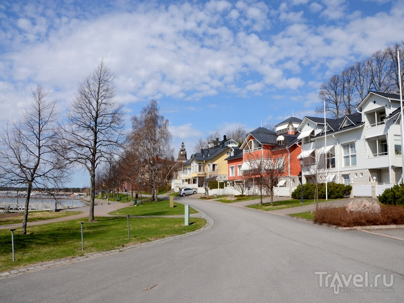 В городе Нантали, Финляндия / Фото из Финляндии
