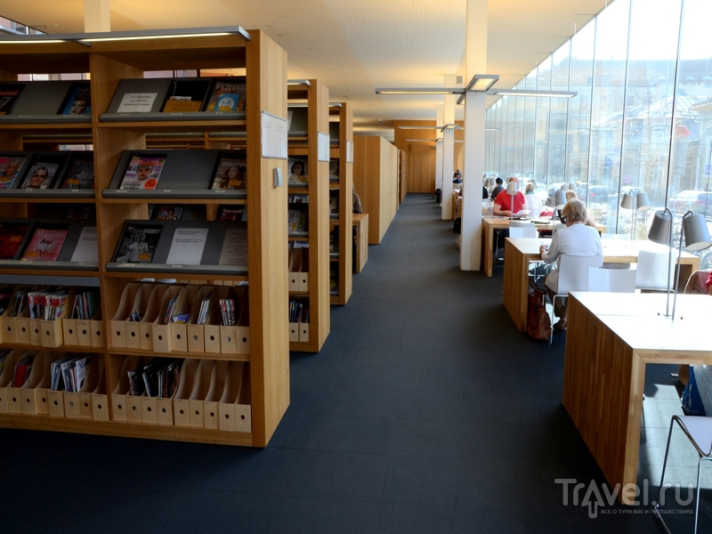 Библиотеки в Финляндии популярны из-за высоких цен на книги / Фото из Финляндии