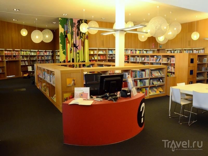Детский отдел в городской библиотеке в Турку, Финляндия / Фото из Финляндии