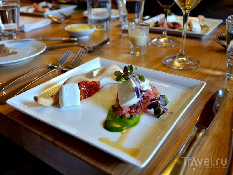 Обед в ресторане Pinella в Турку, Финляндия / Фото из Финляндии