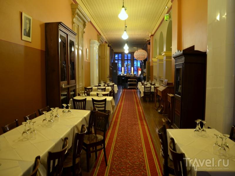 Koulu – старейший пивной ресторан в Турку, Финляндия / Фото из Финляндии