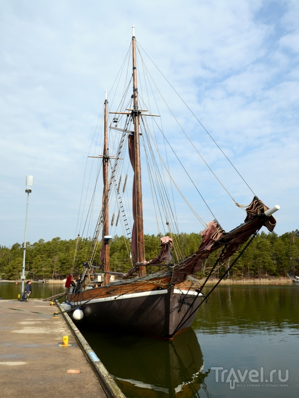 Парусный корабль Olga, построенный в 1885 году / Фото из Финляндии