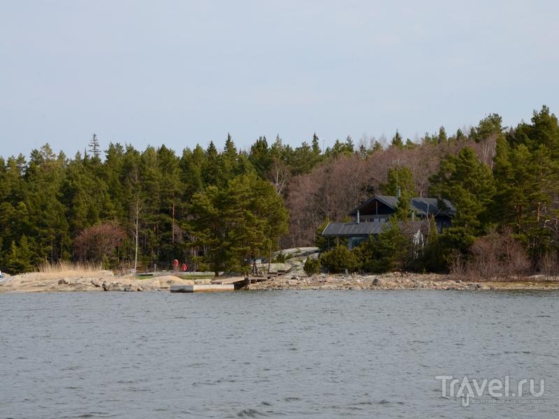 Загородный дом на одном из островов архипелага Турку, Финляндия / Фото из Финляндии