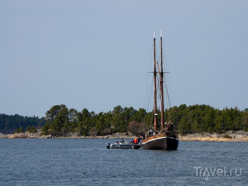 Остров Океттума расположен в 20 километрах юго-западнее Нантали, Финляндия / Фото из Финляндии