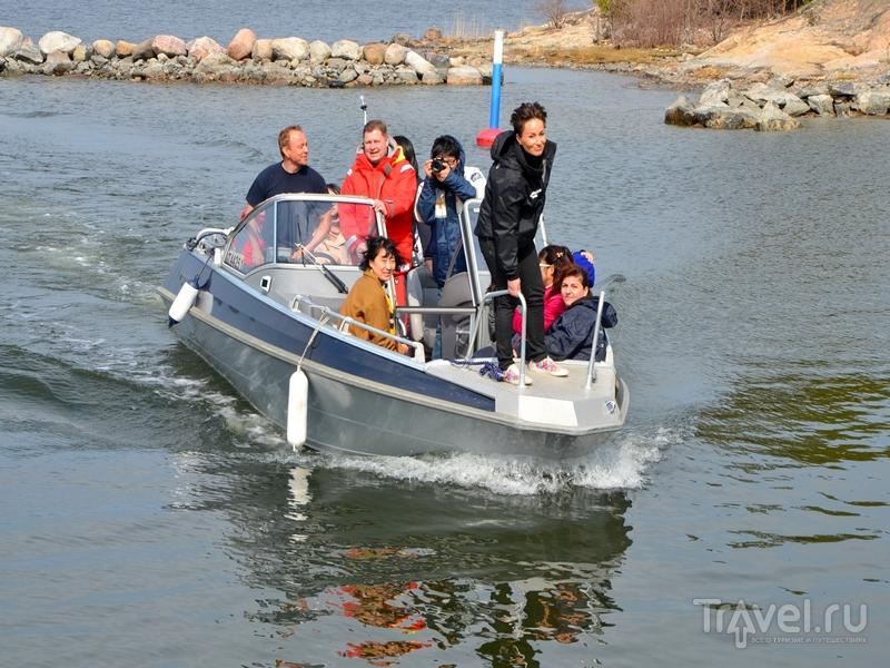 Трансфер на катерах на остров Океттума в архипелаге Турку, Финляндия / Фото из Финляндии