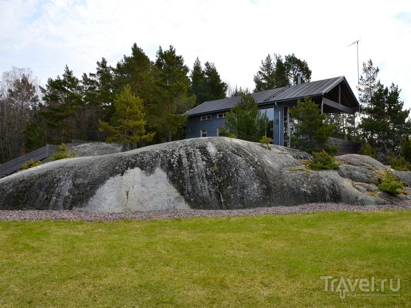 На острове Океттума расположены три небольшие виллы, Финляндия / Фото из Финляндии