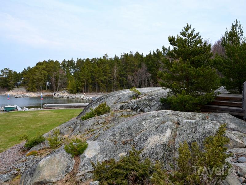 Коттеджи на острове Океттума расположены на небольшом удалении друг от друга, Финляндия / Фото из Финляндии