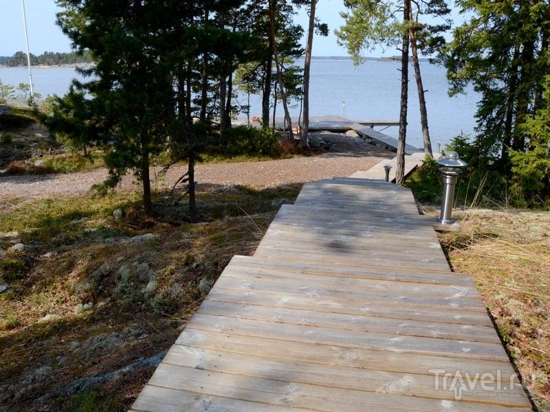 Гости могут отправиться на сафари и экскурсии на каноэ вокруг Океттума, Финляндия / Фото из Финляндии
