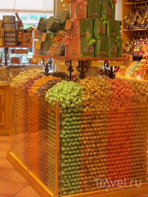 Сарагоса. Разноцветные дома и безлюдные улицы / Испания