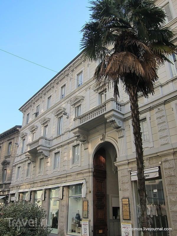Улица Италия (Via Italia) в Монце, Италия / Фото из Италии