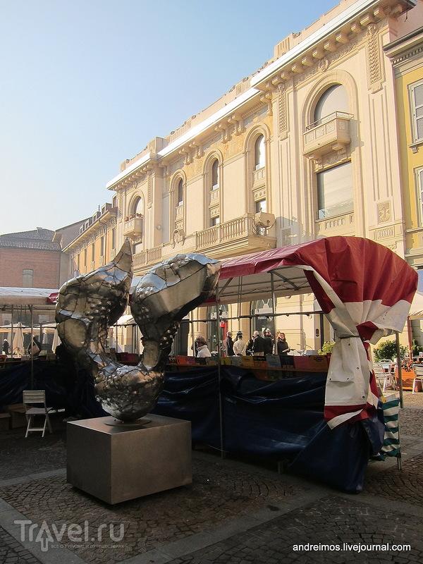 Площадь Сан-Паоло (Piazza San Paolo) в Монце, Италия / Фото из Италии