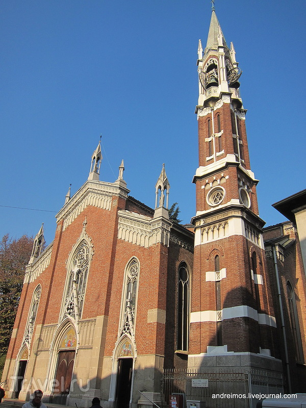 Церковь Св. Марии Анжели (Chiesa di Santa Maria degli Angeli) в Монце, Италия / Фото из Италии