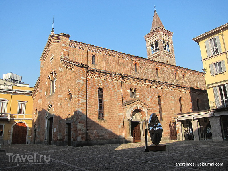 Церковь Св.Петра мученика (Chiesa di San Pietro martire) в Монце, Италия / Фото из Италии