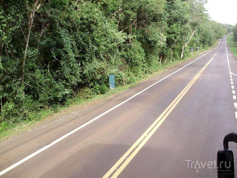 Бразильский национальный парк Игуасу / Фото из Аргентины