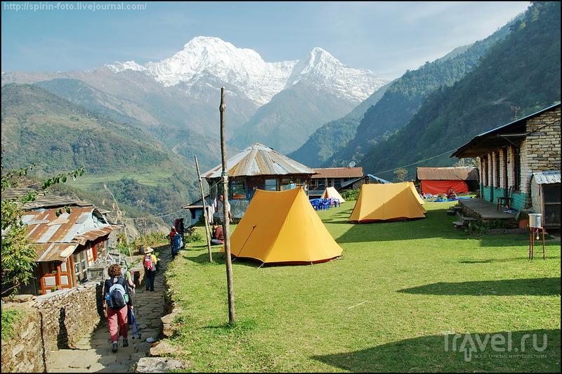 Горы Южная Аннапурна и Хинчули, Непал / Фото из Непала