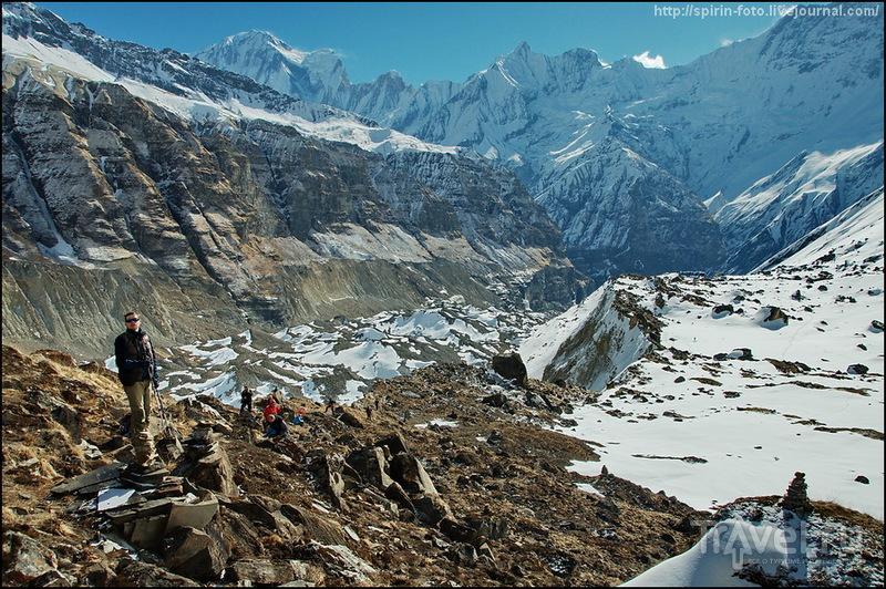 Гора Аннапурна III, Непал / Фото из Непала