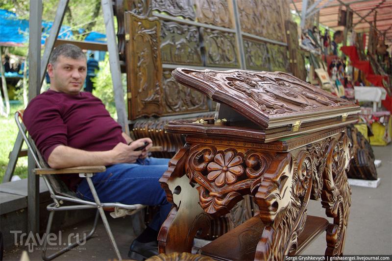 """На рынке """"Вернисаж"""" в Ереване, Армения / Фото из Армении"""