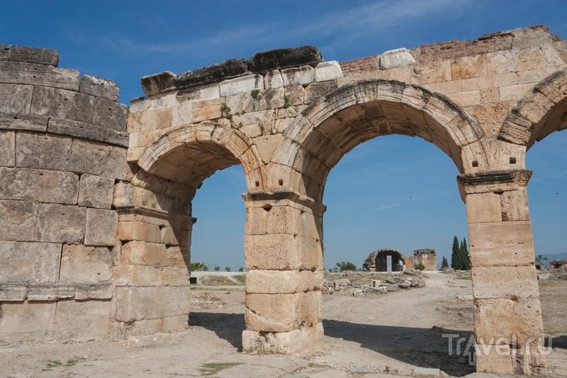 Развалины Иераполиса, Турция / Фото из Турции