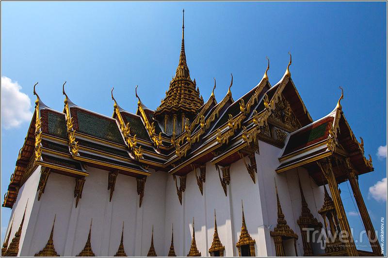 Пхра Тхинанг Дусит Маха Прасат в Бангкоке, Таиланд / Фото из Таиланда
