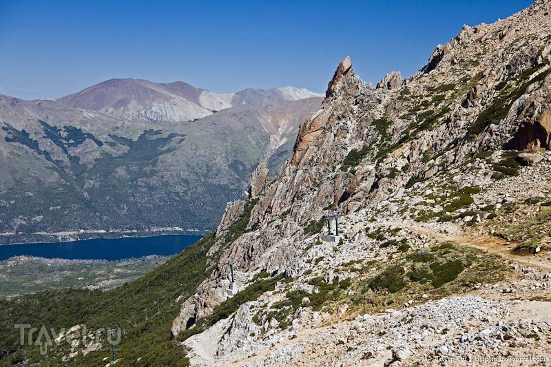 Гора Серро-Катедраль рядом с Барилоче, Аргентина / Фото из Аргентины