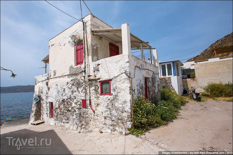 На острове Милос, Греция / Фото из Греции