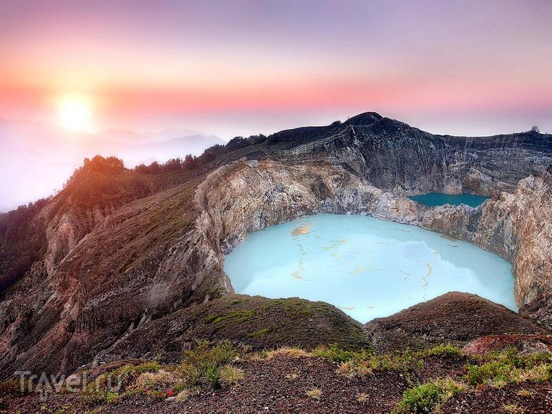 Лучшее время для посещения национального парка - восход солнца, Индонезия / Индонезия