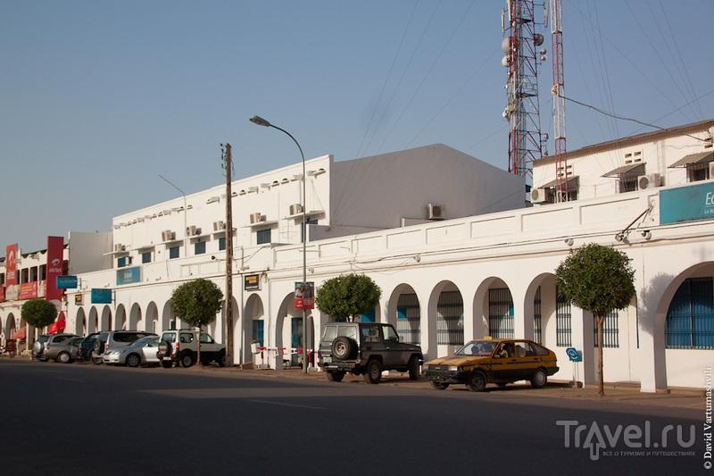 Авеню Шарля де Голля в Нджамена, Чад / Фото из Чада