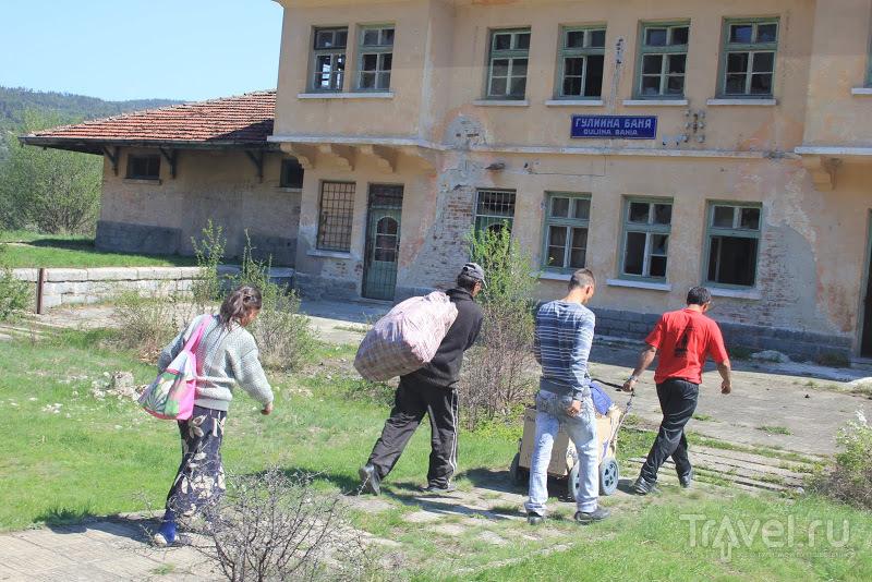 Узкоколейка Добриниште - Банско - Септември / Фото из Болгарии