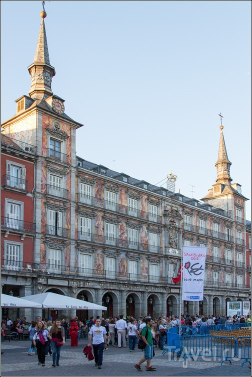 Plaza Mayor в Мадриде, Испания / Фото из Испании