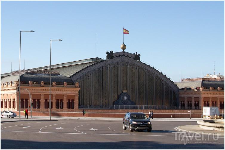 Вокзал Аточа в Мадриде, Испания / Фото из Испании