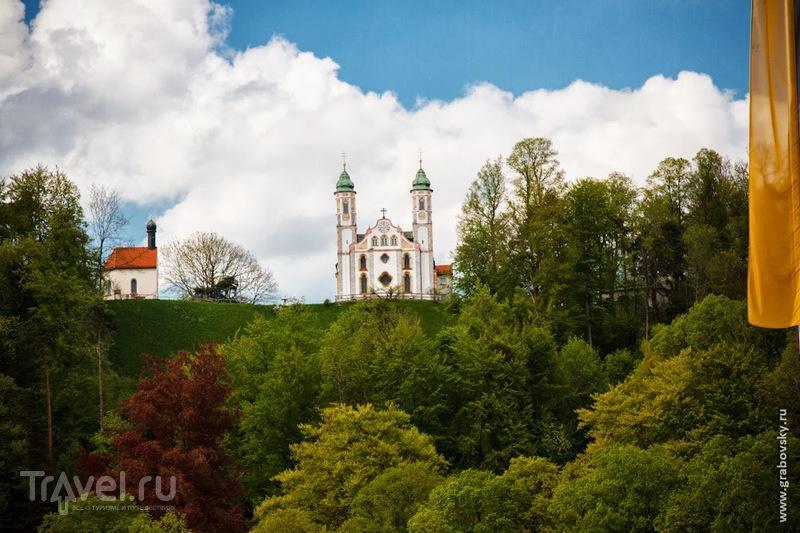 Kalvarienberg Kirche (церковь на Голгофе) в Бад-Тольце, Германия / Фото из Германии