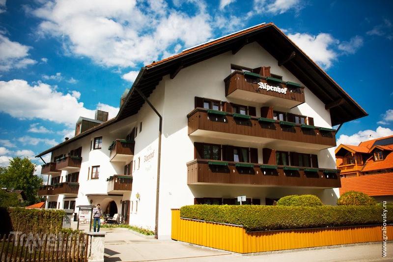 Гостиница Alpenhof в Бад-Тольце, Германия / Фото из Германии