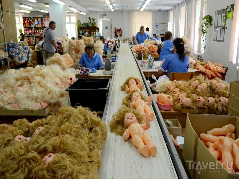 """На фабрике игрушек """"Весна"""" в Кирове, Россия / Фото из России"""