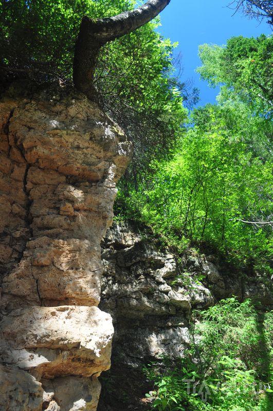 На Береснятском водопаде
