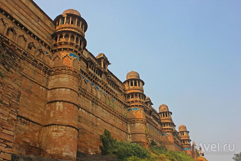 Форт Гвалиор, Индия / Фото из Индии